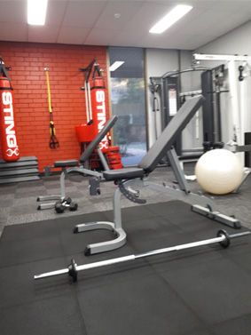 Resistance training facilities and equipments